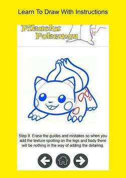 How To Draw Pikachu Pokemon apk screenshot