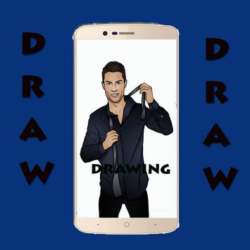 How to Draw Soccer Players screenshot 2