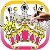 How to draw Crowns icon