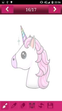 How to draw Cute Unicorns screenshot 2