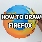 How to Draw a Firefox icon