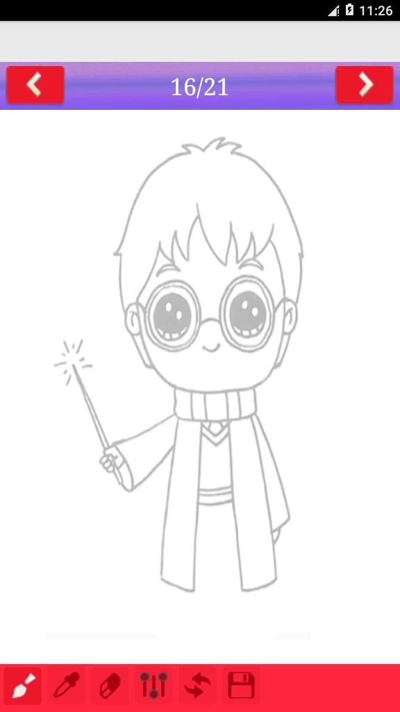 Cómo Dibujar Harry Potter For Android Apk Download