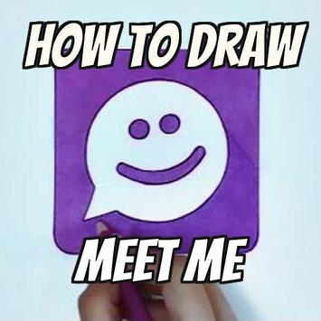 How to Draw a MeetMe poster