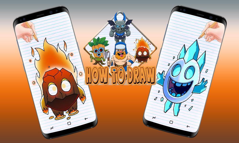 Como Dibujar Clash Royale For Android Apk Download