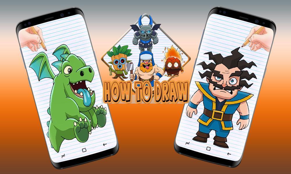 Comment Dessiner Clash Royale Pour Android Téléchargez L Apk