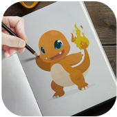 Learn to draw Pokemons on pc