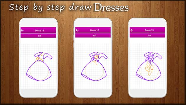 How to Draw Dresses screenshot 2