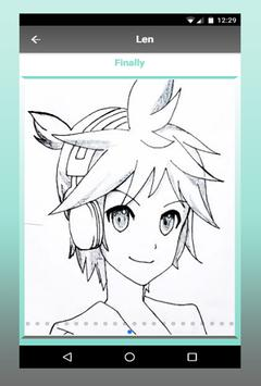How To Draw Anime characters step by step screenshot 4