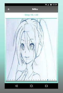 How To Draw Anime characters step by step screenshot 1