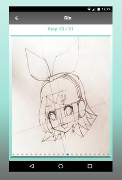 How To Draw Anime characters step by step screenshot 2