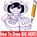 How To Draw Big hero characters
