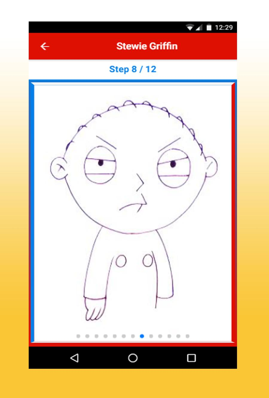 How To Draw Family Guy Characters Step By Step For Android Apk