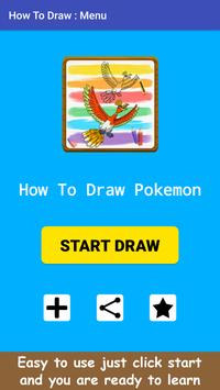How To Draw Legendary Pokemon poster