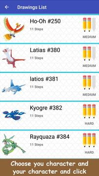 How To Draw Legendary Pokemon apk screenshot