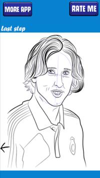 How to sketch and draw Luka Modric screenshot 4