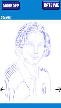 How to sketch and draw Luka Modric screenshot 3