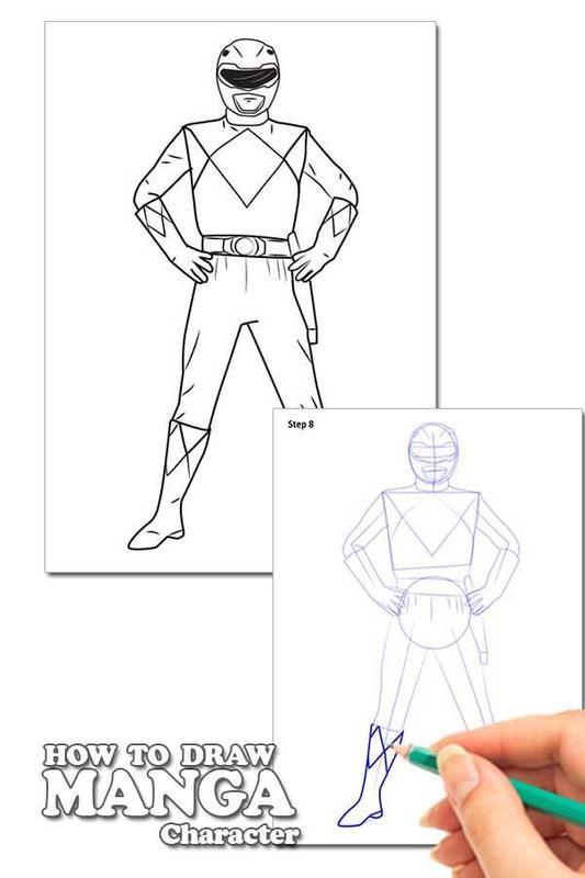 Draw Power Rangers Lessons Descarga APK - Gratis Libros y obras de ...