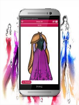 Draw Dress Design - Fashion Drawing apk screenshot