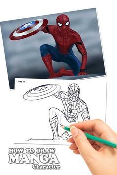 Draw Amazing Spiderman Lessons screenshot 1