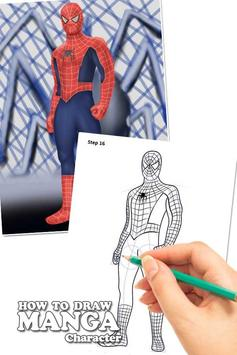 Draw Amazing Spiderman Lessons screenshot 2