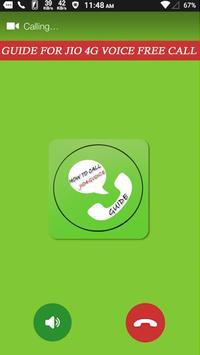 How to call JIO4GVoice apk screenshot