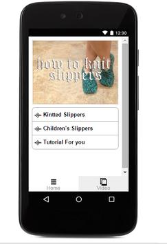 How To Knit Slippers apk screenshot