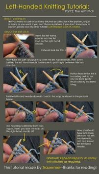 How to Knit Tutorial poster