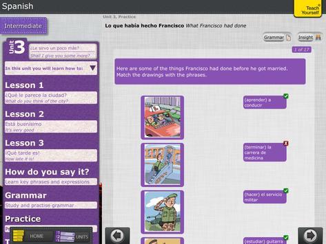 Spanish course teach yourself apk download free education app spanish course teach yourself apk screenshot solutioingenieria Gallery