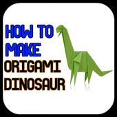How to Make Origami Dinosaur icon
