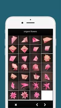 how to make origami flowers step by step screenshot 1