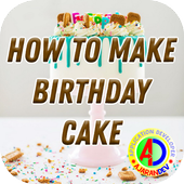 How To Make Birthday Cake icon