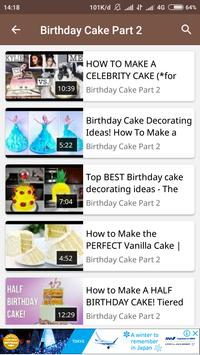 How To Make Birthday Cake screenshot 3