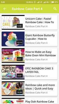 How To Make Rainbow Cake screenshot 4