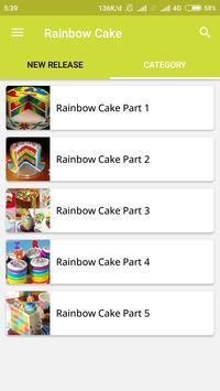 How To Make Rainbow Cake screenshot 1