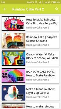How To Make Rainbow Cake screenshot 2