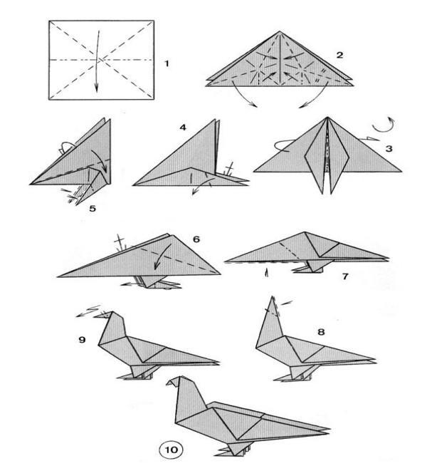 Step By Step Photo Instruction How To Make Origami Paper Fox ... | 650x600