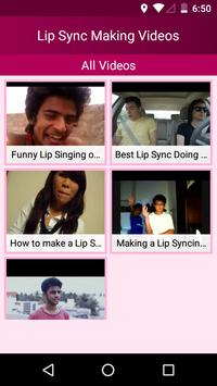 How To Make Lip Sync Videos - Lips Sync Guide App screenshot 1