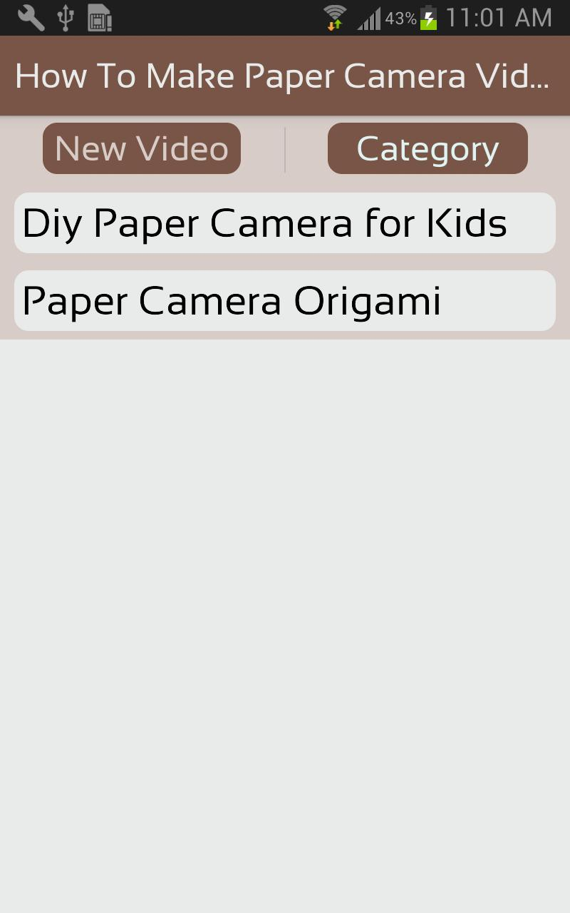 Camera - Easy Origami instructions For Kids | 1280x800