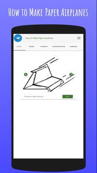 How To Make Paper Airplanes screenshot 12