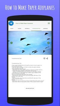How To Make Paper Airplanes screenshot 9