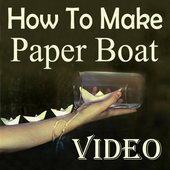 How To Make Paper Boat Video icon