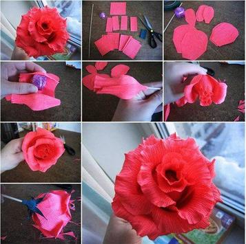 How to make paper flowers apk download free art design app for how to make paper flowers apk screenshot mightylinksfo