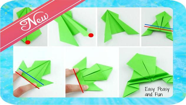 How to make paper frog screenshot 3