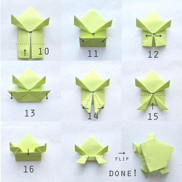 How to make paper frog screenshot 1