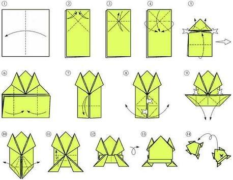 How to make paper frog screenshot 2