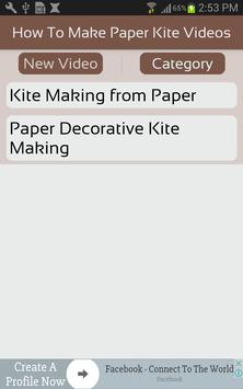 How To Make Paper Kite Videos screenshot 1