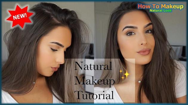 How to Makeup Natural Videos screenshot 1