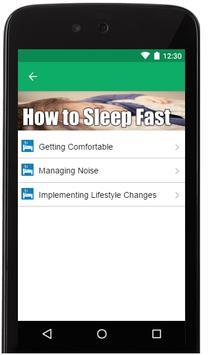 how to sleep fast apk screenshot