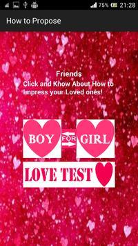 How to Propose to Ur Love apk screenshot