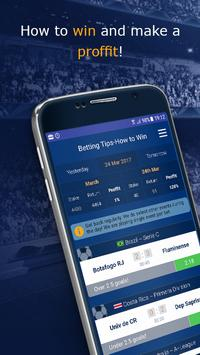 Betting Tips 100 win football betting predictions poster